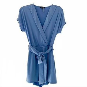 1.STATE Light Blue Romper Small